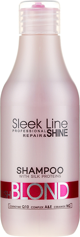 Šampón na vlasy - Stapiz Sleek Line Blush Blond Shampoo
