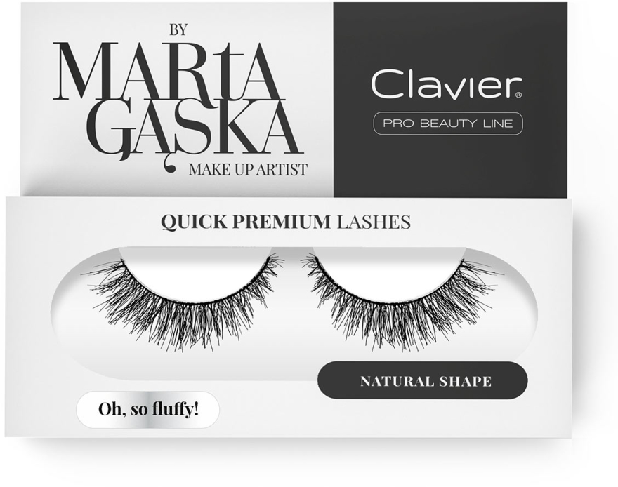 Falošné mihalnice - Clavier Quick Premium Lashes Oh, So Fluffy! SK57