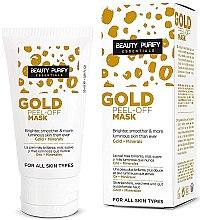 Voňavky, Parfémy, kozmetika Maska na tvár - Diet Esthetic Beauty Purify Gold Peel-Off Mask