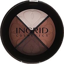 Voňavky, Parfémy, kozmetika Očné tiene - Ingrid Cosmetics Smoky Eyes Eye Shadows