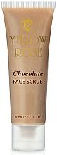 Voňavky, Parfémy, kozmetika Energizujúci čokoládový scrub - Yellow Rose Chocolate Face Scrub