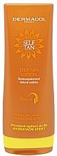 Voňavky, Parfémy, kozmetika Samoopaľovacie mlieko na telo - Dermacol Sun Self Tan Lotion