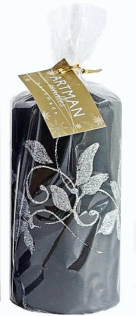 Dekoratívna sviečka, čierna, 7x10 cm - Artman Amelia — Obrázky N1