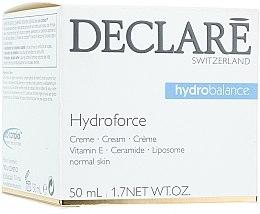 Voňavky, Parfémy, kozmetika Hydratačný krém s vitamínom E - Declare Hydroforce Cream