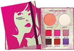 Voňavky, Parfémy, kozmetika Paleta na líčenie - Neve Cosmetics Harajuku Memoir Palette