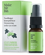 Voňavky, Parfémy, kozmetika Očný krém s vitamínom E a extraktom z uhoriek - Make Me BIO