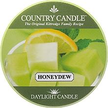 Voňavky, Parfémy, kozmetika Čajová sviečka - Country Candle Honeydew Daylight