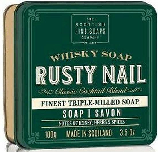 "Mydlo ""Rusty Nail"" - Scottish Fine Soaps Rusty Nail Sports Soap In A Tin — Obrázky N1"