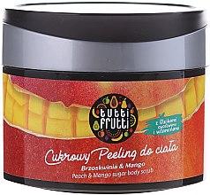 """Cukrový peeling pre telo """"Broskyňa a mango"""" - Farmona Tutti Frutti Sugar Scrub — Obrázky N2"""