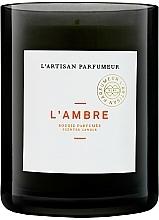 Voňavky, Parfémy, kozmetika Vonná sviečka - L'artisan Parfumeur L'Ambre