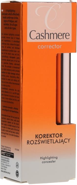 Rozjasňujúci korektor - Dax Cashmere Corrector Highlighting Concealer