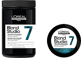 Voňavky, Parfémy, kozmetika Bieliaci púder - L'Oreal Professionnel Blond Studio Multi-Functional Powder