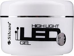 Voňavky, Parfémy, kozmetika Gél na nechty - Silcare High Light LED Blue