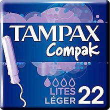Voňavky, Parfémy, kozmetika Tampóny s aplikátorom, 22 ks - Tampax Compak Light