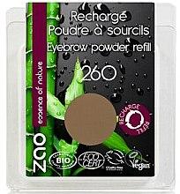 Voňavky, Parfémy, kozmetika Tiene na obočie - Zao Eyebrow Powder (vymeniteľná jednotka)