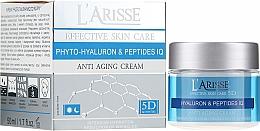 Voňavky, Parfémy, kozmetika Krém proti vráskam s kyselinou hyalurónovou a peptidy 45+ - Ava Laboratorium L'Arisse 5D Anti-Wrinkle Cream Phytohyaluron + Peptides