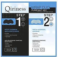 Voňavky, Parfémy, kozmetika Náplaste na nos - Qiriness Purifiant Nez 2-Step Nose Patches