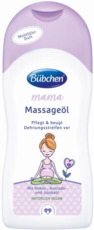 Masážny olej - Bubchen Mama Massage Oil — Obrázky N1