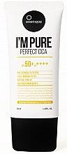 Voňavky, Parfémy, kozmetika Krém na citlivú pokožku s SPF ochranou - Suntique I'm Pure Perfect Cica SPF 50+ / PA +++