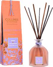 Voňavky, Parfémy, kozmetika Aromatický difúzor Ambra a Heliotrope - Collines de Provence Bouquet Aromatique Amber & Heliotrope