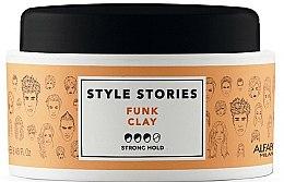 Voňavky, Parfémy, kozmetika Pomáda na styling vlasov strednej fixácie - Alfaparf Style Stories Funk Clay Strong Hold