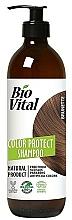 Voňavky, Parfémy, kozmetika Šampón na hnedé vlasy - DeBa Bio Vital Colour Revive Brunette
