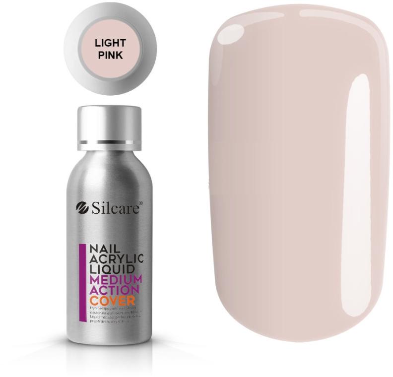 Akryl na nechty - Silcare Nail Acrylic Liquid Medium Action Cover