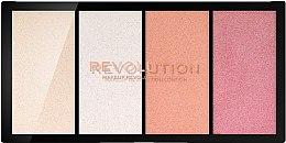 Voňavky, Parfémy, kozmetika Paleta rozjasňovačov - Makeup Revolution Re-Loaded