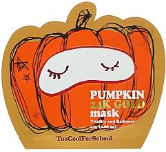 Voňavky, Parfémy, kozmetika Výživná maska s tekvicou a zlatom - Too Cool For School Pumpkin 24k Gold Mask