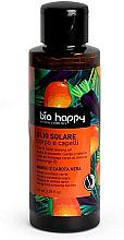 """Voňavky, Parfémy, kozmetika Opaľovací olej """"Mango a čierna mrkva"""" - Bio Happy Hair & Body Tanning Oil Mango And Black Carrot"""