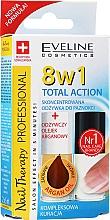 Voňavky, Parfémy, kozmetika Vysokoúčinný prostriedok na nechty 8v1 - Eveline Cosmetics Nail Therapy