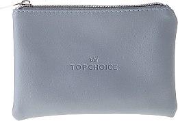 """Kozmetická taška """"Leather"""", 96969, sivá - Top Choice — Obrázky N1"""