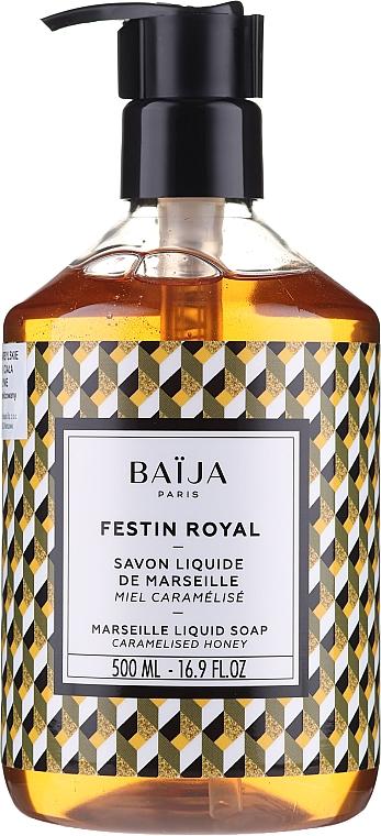 Tekuté marseillské mydlo - Baija Festin Royal Marseille Liquid Soap