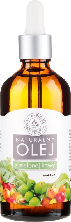 Anticelulitídový olej s extraktom zelenej kávy - E-Flore Natural Oil