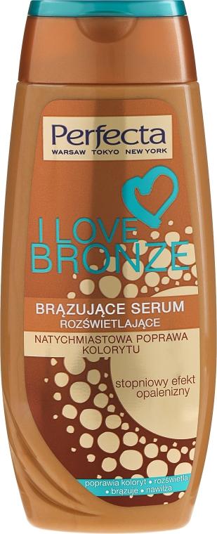 Bronzujúci sérum na telo - Perfecta I Love Bronze Serum