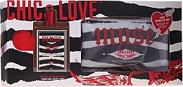 Voňavky, Parfémy, kozmetika Chic&Love Muse - Sada (edt / 100ml + vrecko)
