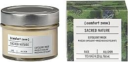 Voňavky, Parfémy, kozmetika Exfoliačná maska na tvár - Comfort Zone Sacred Nature Exfoliant Mask