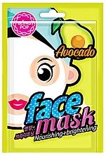 Voňavky, Parfémy, kozmetika Maska na tvár s avokádovým extraktom - Bling Pop Avocado Nourishing & Brightening Mask