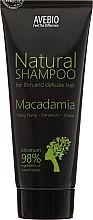 """Voňavky, Parfémy, kozmetika Šampón na vlasy """"Macadamia"""" - Avebio Natural Shampoo For Thin And Delicate Hair"""