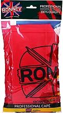Voňavky, Parfémy, kozmetika Kadernícka pláštenka, univerzálna veľkosť, červená - Ronney Professional Hairdressing Cape One Size