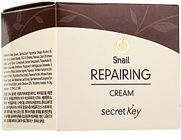 Voňavky, Parfémy, kozmetika Krém na tvár - Secret Key Snail + EGF Repairing Cream