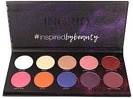 Voňavky, Parfémy, kozmetika Paleta tieňov na viečka - Ingrid Cosmetics Colors Matt & Glam Palette