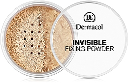 Voňavky, Parfémy, kozmetika Priehľadný fixačný púder - Dermacol Invisible Fixing Powder