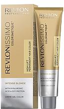"""Voňavky, Parfémy, kozmetika Krém-farba pre tieň vlasov """"blond"""" - Revlon Revlonissimo Colorsmetique Intense Blonde"""