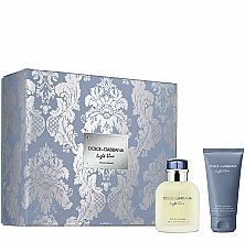 Voňavky, Parfémy, kozmetika Dolce&Gabbana Light Blue Pour Homme - Sada (edt/75ml + ash/balm/50ml)
