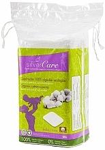 Voňavky, Parfémy, kozmetika Odličovacie vatové tampóny, 60 ks - Silver Care Cotton Squares