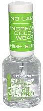 Voňavky, Parfémy, kozmetika Pokrytie na nechty - Miss Sporty Nail Expert 3D Gel Effect Top Coat