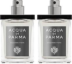 Voňavky, Parfémy, kozmetika Acqua di Parma Colonia Pura Travel Spray Refills - Kolínska voda