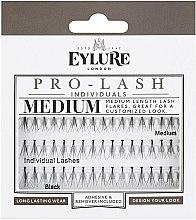 Voňavky, Parfémy, kozmetika Falošné riasy - Eylure Black Individual Pro Medium Length Lashes
