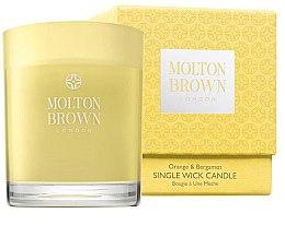 Voňavky, Parfémy, kozmetika Molton Brown Orange & Bergamot Single Wick Candle - Sviečka s 1 knôtom
